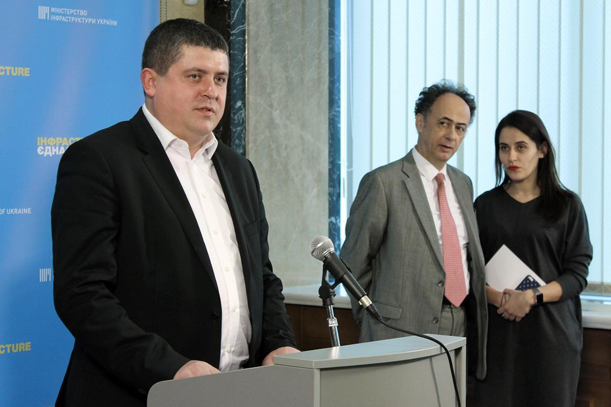 """""""Народний фронт"""" підтримує євроінтеграційні законопроекти, розроблені в Міністерстві інфраструктури (фото, відео)"""