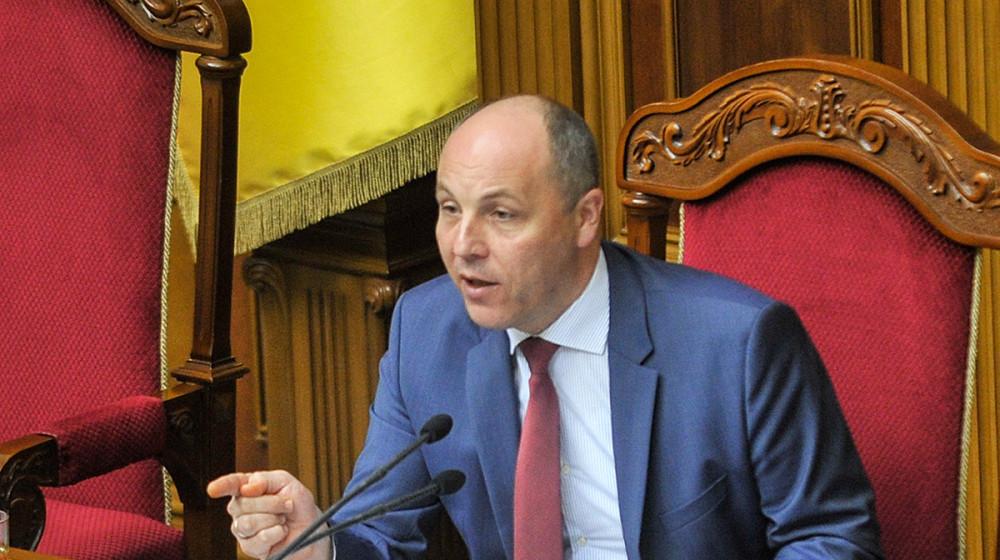 Андрій Парубій: Лишати воюючу країну без міністра оборони недопустимо