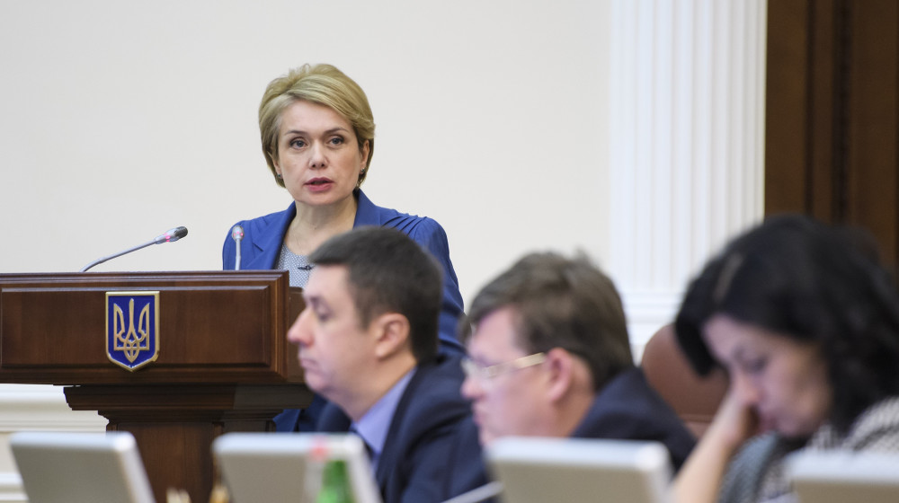 Лілія Гриневич: До 2020 року в Україні буде створено понад 96 тис. додаткових місць у дитсадках