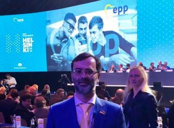 Європейська народна партія засудила анексію Криму, - Георгій Логвинський