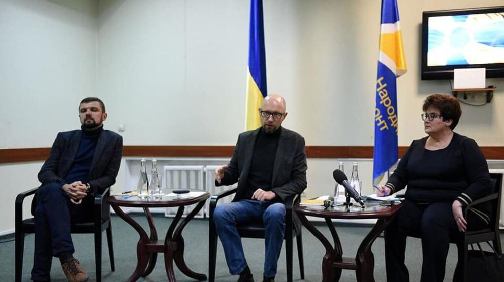 Арсеній Яценюк зустрівся з однопартійцями Волині
