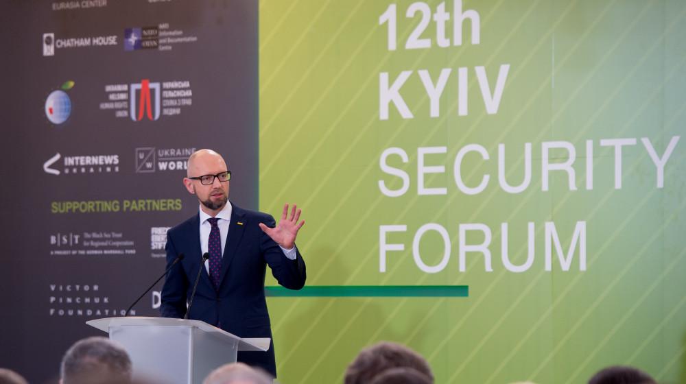 Арсеній Яценюк назвав червоні лінії для переможця президентських виборів