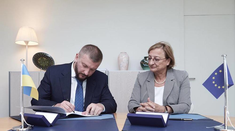 Павло Петренко у Страсбурзі від імені України підписав дві конвенції Ради Європи (фото)