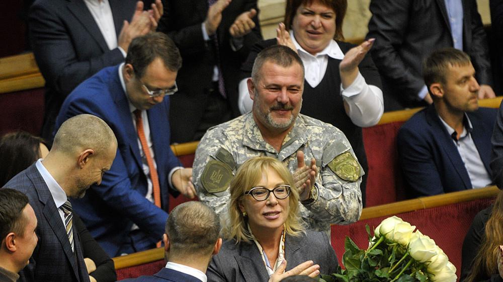 Представника «Народного фронту» Людмилу Денісову обрано Уповноваженим з прав людини (відео)