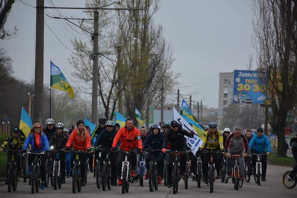 За підтримки Олександра Горбунова у Кропивницькому відкрили велосезон-2019 (фоторепортаж)