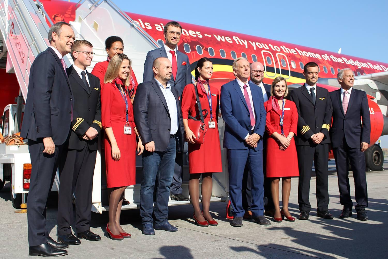 Авіакомпанія Brussels Airlines розпочала польоти до України