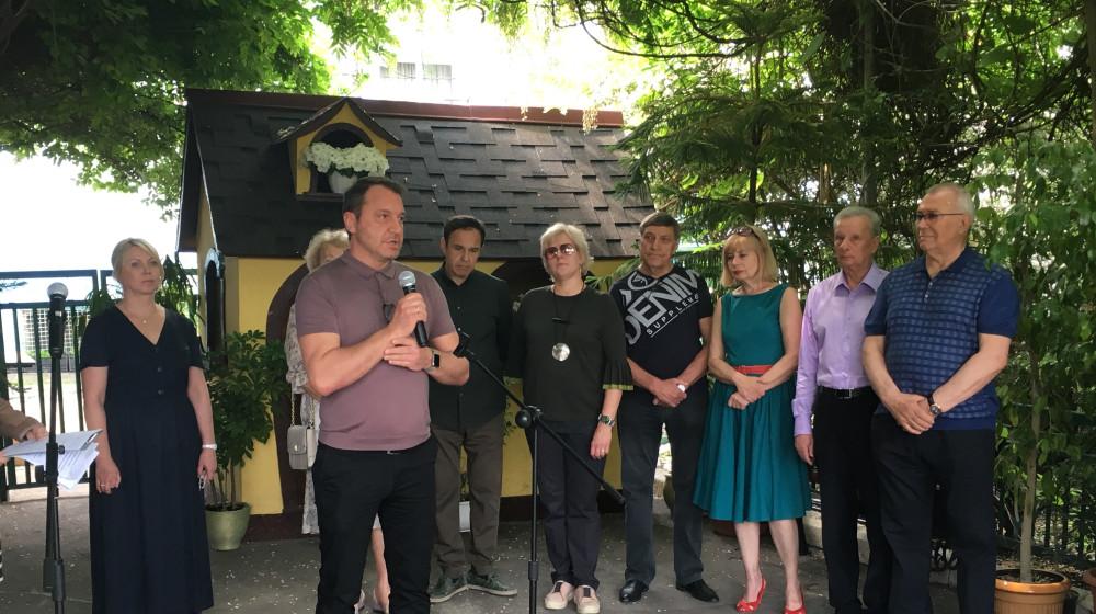 У Запоріжжі вшанували пам'ять Почесного громадянина міста Петра Ваната