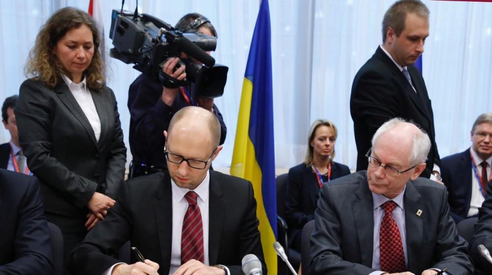 Арсеній Яценюк в річницю підписання політичної частини Угоди про асоціацію з ЄС: Ми станемо членами ЄС і НАТО. Вірив у це 5 років тому. Вірю в це зараз