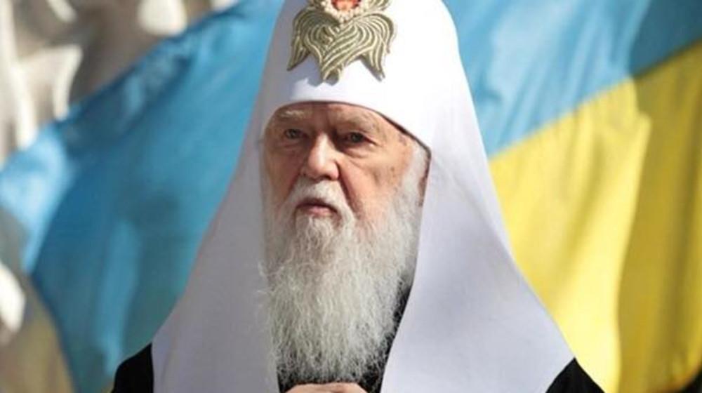 Арсеній Яценюк привітав Владику Філарета з 23-ю річницею сходження на Київський патріарший престол