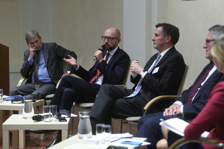 Арсеній Яценюк у Кракові: В питанні енергобезпеки ЄС має триматися цінностей, а не ціни (відео)