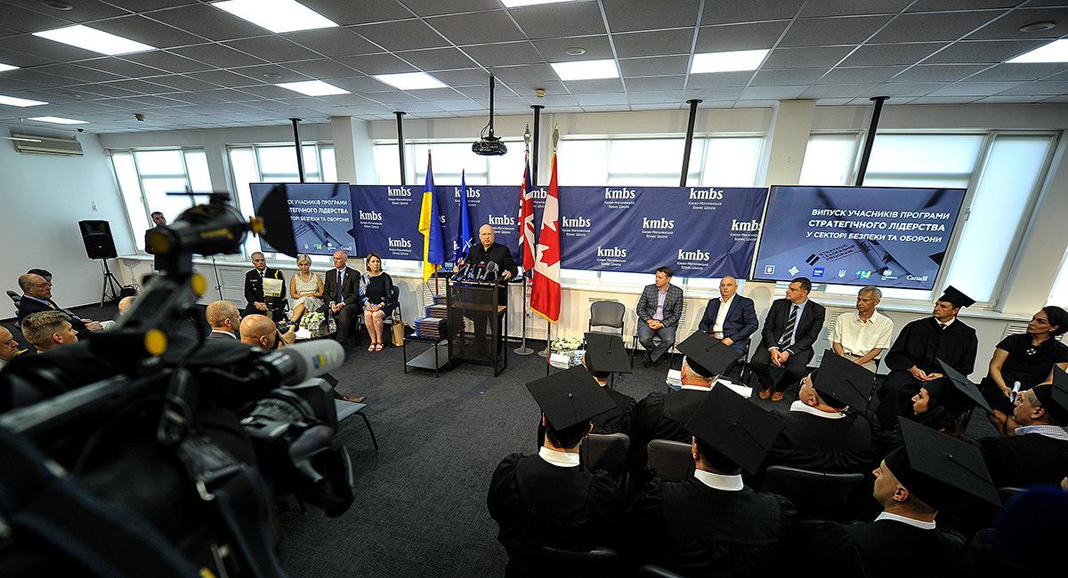 Олександр Турчинов: Перехід на стандарти НАТО неможливий без підготовки нової формації керівників стратегічного рівня