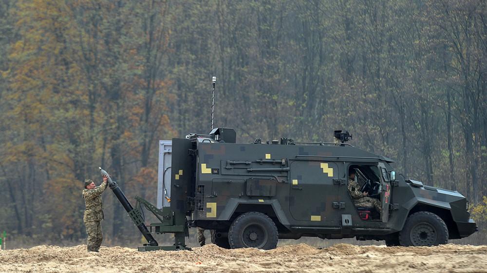 Відбулися випробування нового українського мобільного мінометного комплексу